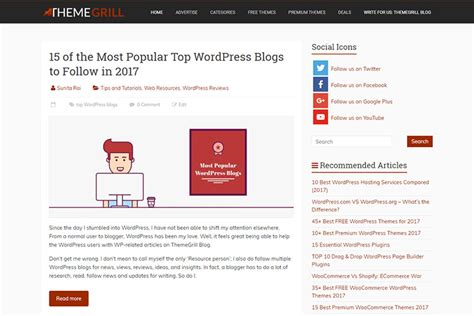 15 Of The Most Popular Top Wordpress Blogs To Follow In 2019