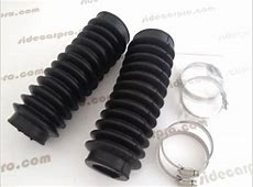 CJ750 parts Rubber front fork sleeves