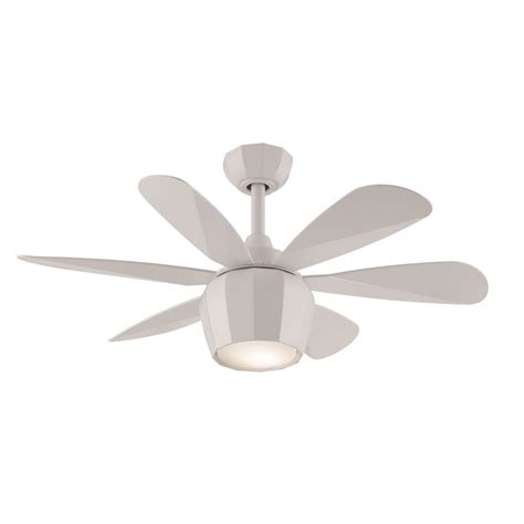 36 outdoor ceiling fan shop fanimation studio collection crease 36 in matte white
