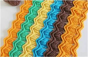 Ripple blanket - Vintage Fan - Free Crochet Pattern