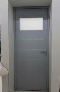 Porte De Service Aluminium : lyon fen tres fabrication et pose de portes de service ~ Dailycaller-alerts.com Idées de Décoration