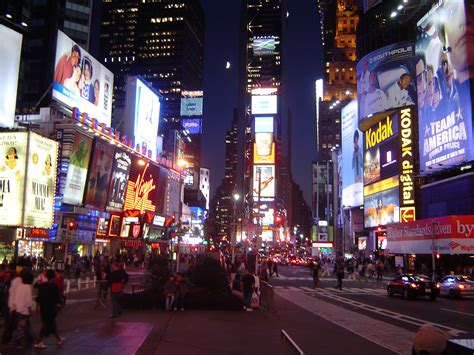 time square lighting free stock photo of busy in times