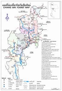 Chiang Mai Thailand Tourist Map - Chiang Mai Thailand ...