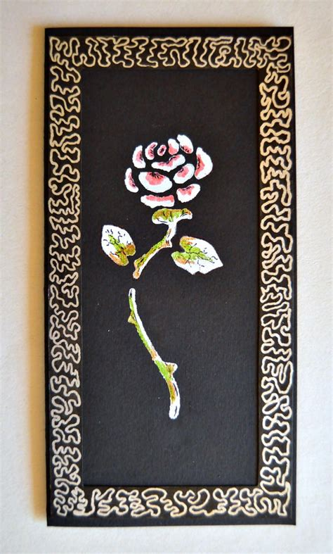spectacular rose diy birthday card allfreepapercraftscom