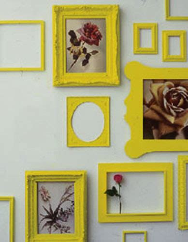 Empty picture frames picture frame crafts empty frames frame wall decor frames on wall frame decoration wall decorations wall art dollar store. Decorating with Old Picture Frames, Money Saving Wall Decoration Ideas