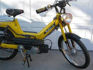 1978 78 Puch Maxi Moped With Biturbo Muffler
