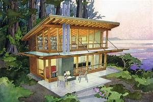 Modern Style House Plan  Ft Plan