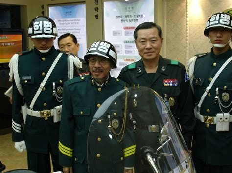 south korean military police helmetsuniforms gentlemint