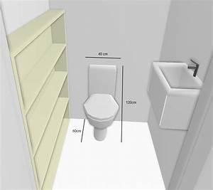 Dimension Wc Suspendu : dimension toilettes notre maison rt2012 par trecobat ~ Premium-room.com Idées de Décoration