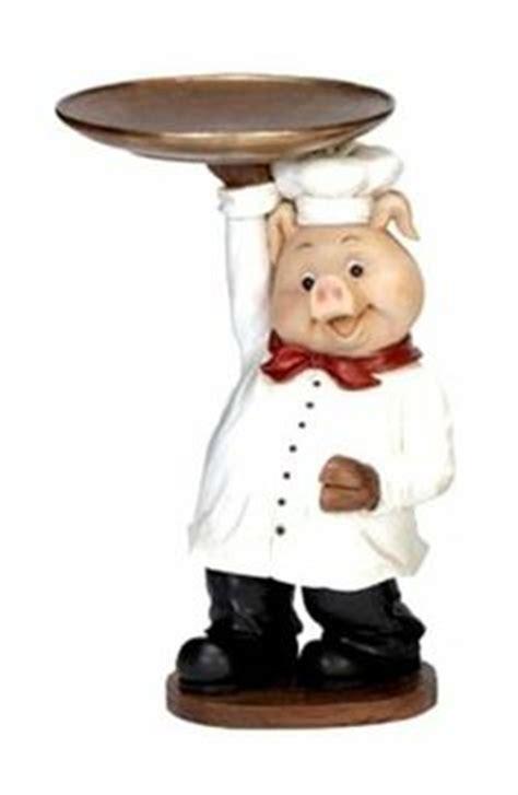Farm Pig Wire Food Storage Basket Country Kitchen Animal