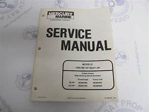 1995 Mercury Mariner Outboard Service Manual 90 120 Sport