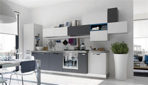 cuisine schmidt besancon open modern kitchens with few pops of color