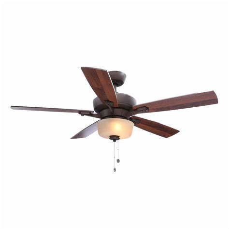 Hton Bay Ceiling Fan Wall Manual by Hton Bay Hawthorne Ii 52 In Rubbed Bronze Ceiling