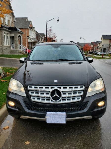 Find new, used and salvaged cars & trucks for sale locally in ontario : 2010 Mercedes-Benz ML 350 Bluetec Diesel | Cars & Trucks ...