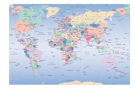 Carte Geographique Du Monde Hd by Encyclop 233 Die Larousse En Ligne Les 201 Tats Du Monde