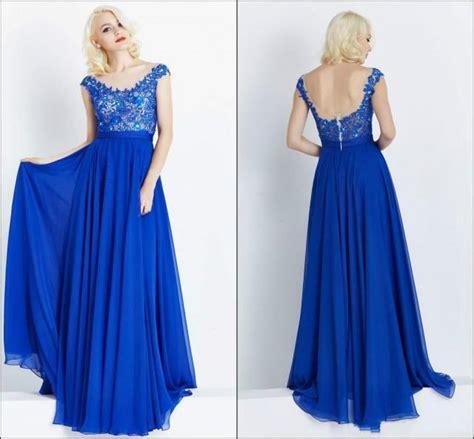 arrival short sleeve lace evening dresses long