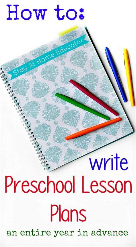preschool lesson planning a year in advance 676   How to write preschool lesson plans an entire year in advance 1