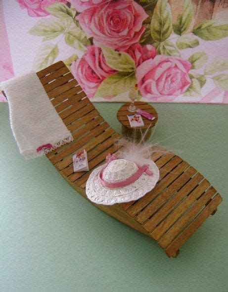 Miniature Lounge Chair How To  Miniature Printables And