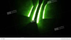 Claw Slashes Vertical Green Stock Animation   7117380