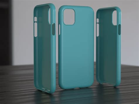 print model iphone  case cgtrader