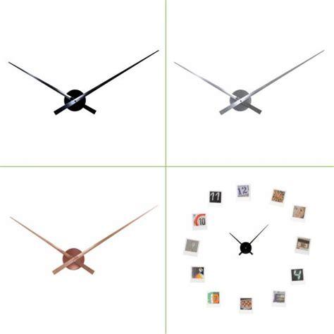 wanduhr nur zeiger designer wanduhr big time nur zeiger ohne ziffern quarzwerk 50 90 cm metall wanduhren
