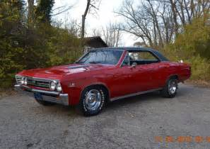 1967 Chevy Chevelle SS 396 Red