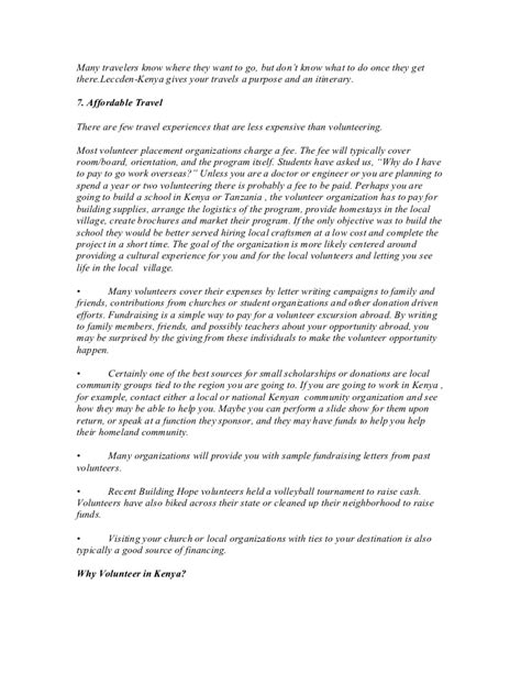 Resume Overview Exles by 50 Letter Study Abroad Abroad Letter Study