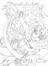 Levi Outlines Outline Kyojin Sketch Deviantart Humanoid Salvo sketch template