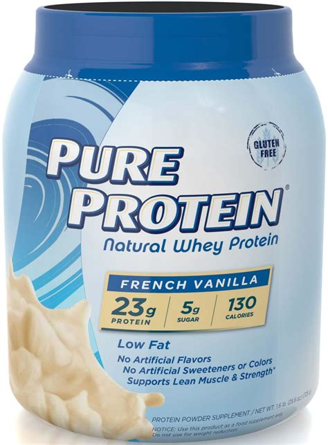 Amazon.com: Pure Protein Natural Whey Protein Powder