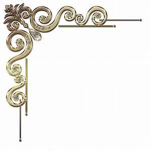 corner decorative with dimmond
