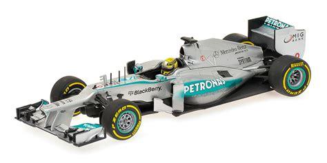 F1 Model Cars by 2013 Mercedes Amg F1 Team Nico Rosberg Showcar Diecast