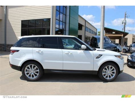 land rover hse white fuji white 2016 land rover range rover sport hse exterior