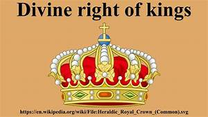 Divine Right Of Kings