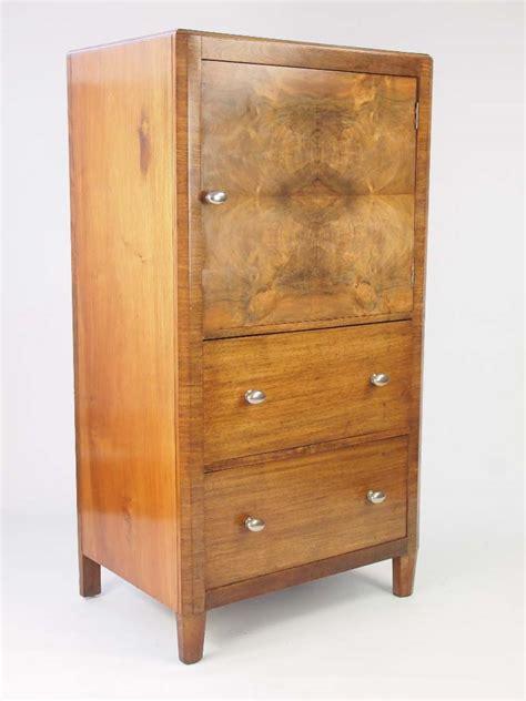 Tallboy Cupboard by Deco Walnut Tallboy Cupboard On Chest For Sale