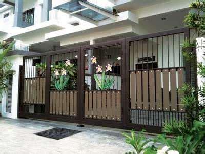 contoh model desain pagar rumah bernuansa klasik