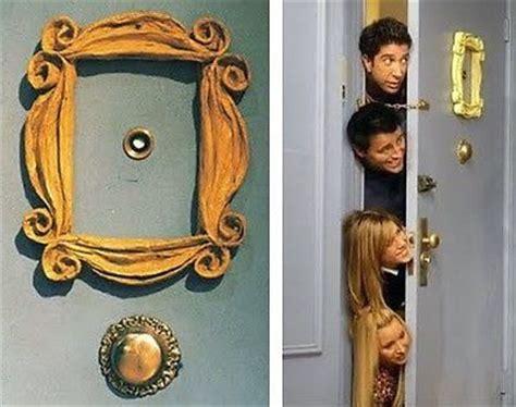 friends door frame friends tv show yellow picture frame gold purple door prop