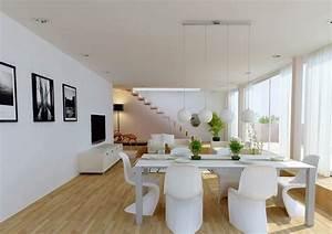 amenagement salon salle a manger reussir la separation With salon et salle a manger design
