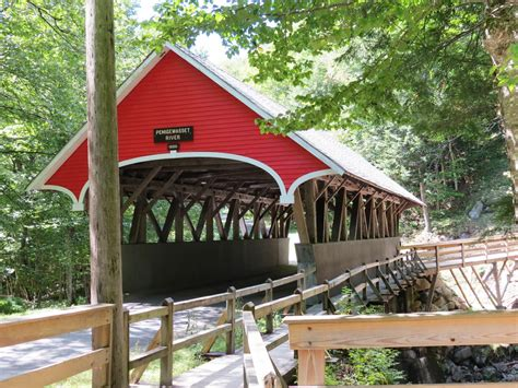 Top Ten Covered Bridges In Northern Vermont And New Hampshire