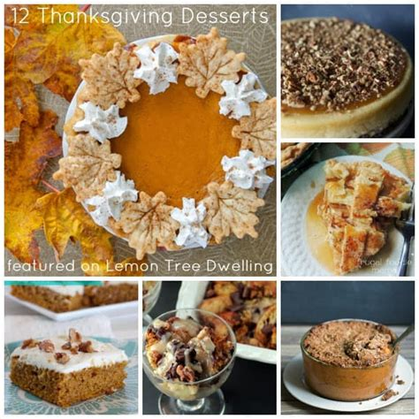 easy delicious thanksgiving desserts 12 delicious thanksgiving desserts lemon tree dwelling