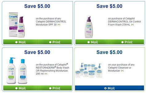 51366 Cetaphil Dermacontrol Foam Wash Coupon by Canadian Coupons 5 Cetaphil Coupons Available Through