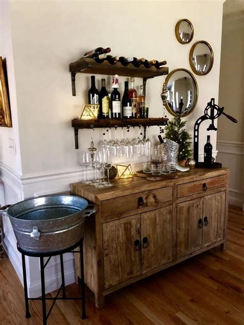 There are several bar cabinet ideas for all those of you who don't have the space for a large bar for coffee and wine places. 80 amazing coffee bar ideas for your home 53 in 2020 ...