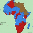 Largest branch of Christianity in African countries [4800 ...