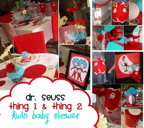 Dr Seuss Baby Shower Decorations  Best Baby Decoration