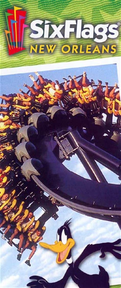 Theme Park Brochures Six Flags New Orleans - Theme Park ...
