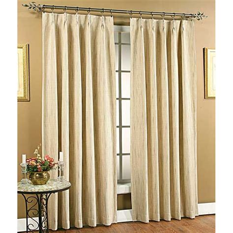 tucson foam back pinch pleat drape pair