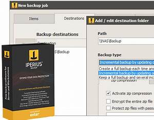 Iperius Backup   The free backup software for Windows