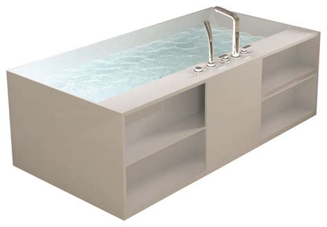 Adm White Standalone Resin Bathtub  Modern  Bathtubs. Adesso Floor Lamp. Marcums Nursery. All Modern Customer Service. Screened In Porch. Floor Lamps Lowes. Corner Bathtub. Rustic Dining Table. Hall Tree White