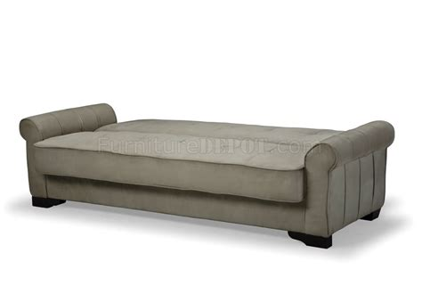 sleeper sofa storage delux mocha microfiber sleeper sofa with storage
