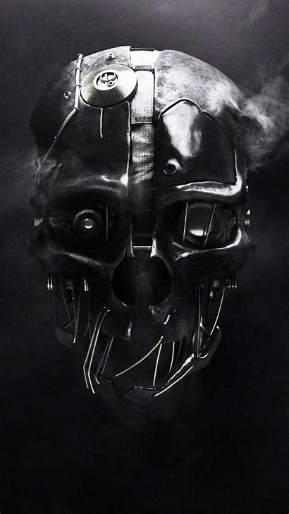 Skull Wallpapers Android Dishonored 1080 1920 Galaxy