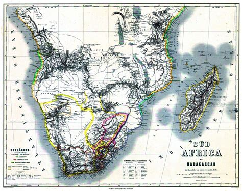 South Africa - History Maps